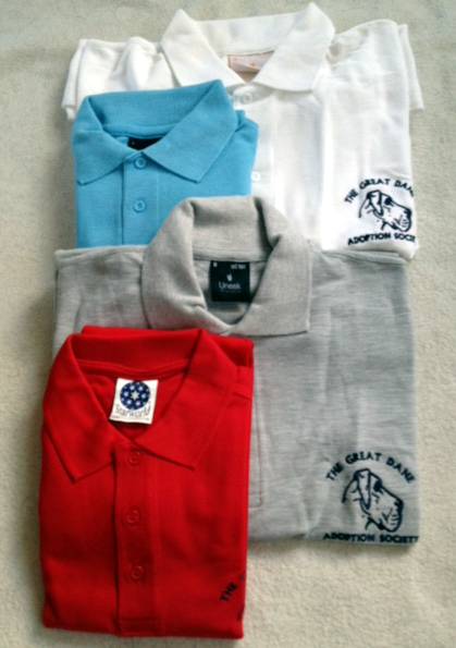 Great Dane Adoption Polo Shirt