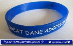 Great Dane Adoption Silicone Wristband