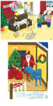 Great Dane Cartoon Christmas Cards